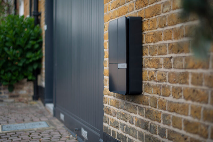 Here's looking at you! The A2 in Nearly Black front and body on London stock brick. Contemporary and old do work together.